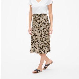 Gap Print Midi Skirt Size XS NWT